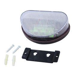 Zewnętrzna, solarna, naścienna LED lampa