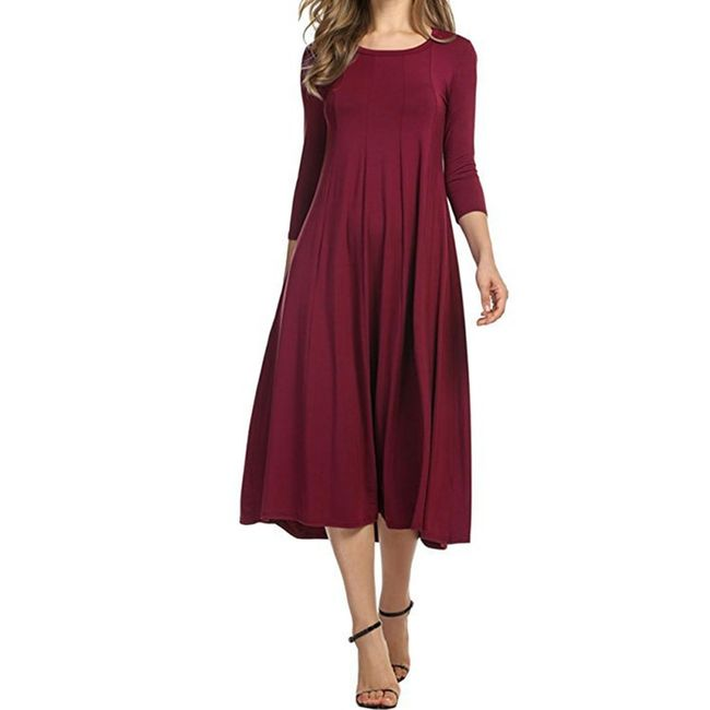 Dámské dlouhé šaty Rossie - 13 variant 1