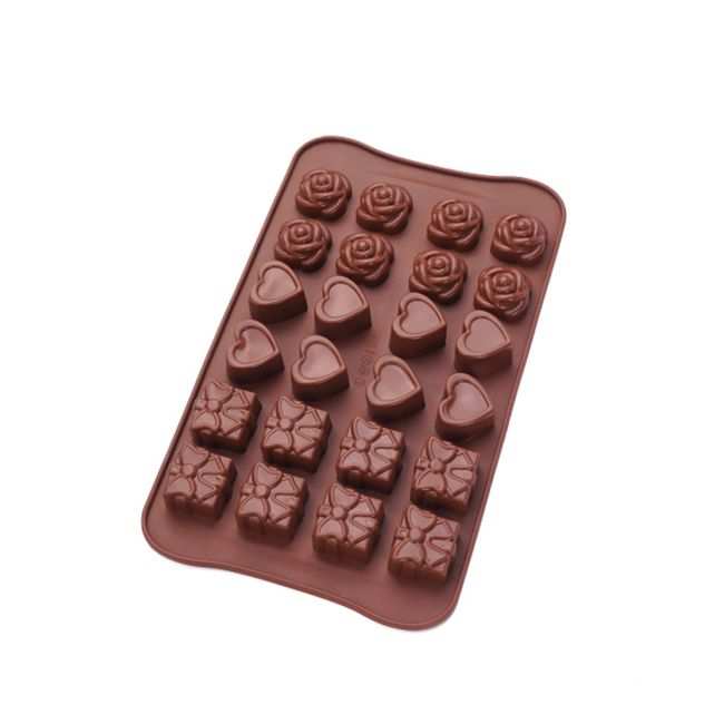 Silikonski kalup za čokolado 1