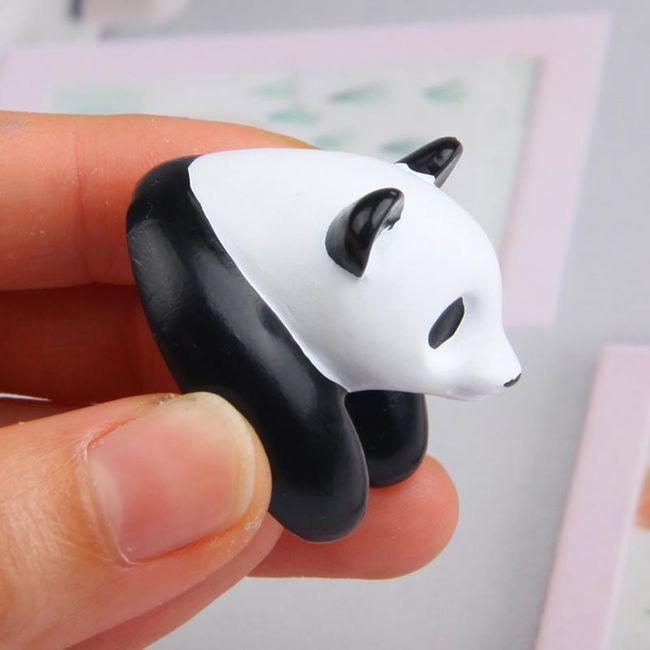 3D magnetka - panda 1