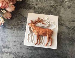 Silikonová formička s motivem jelena
