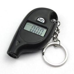 Digitální tlakoměr na měření tlaku v pneumatikách