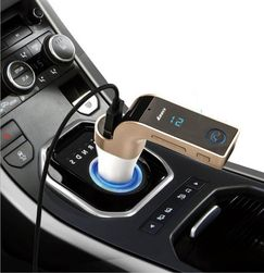 Bluetooth FM transmitter s USB vstupem