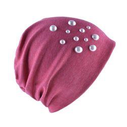 Ženska tanka kapa sa perlama - 8 boja