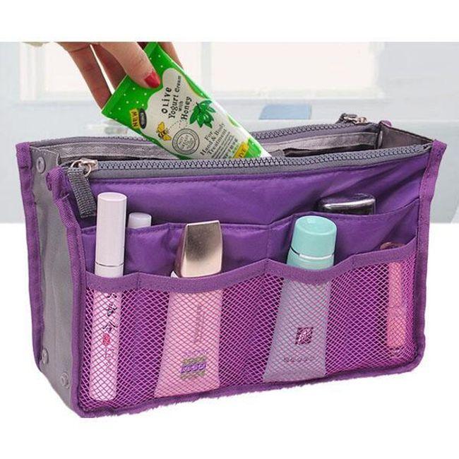 Bölmeli kozmetik çantası 1