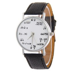 Stylové hodinky pro matematiky