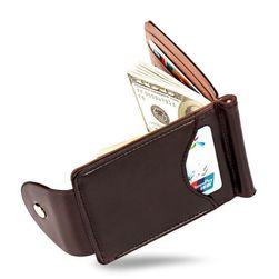 Férfi mini pénztárca csattal