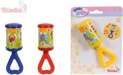 Chrastítko dětské Kling - Klang 3 barvy na kartě baby SR_102581