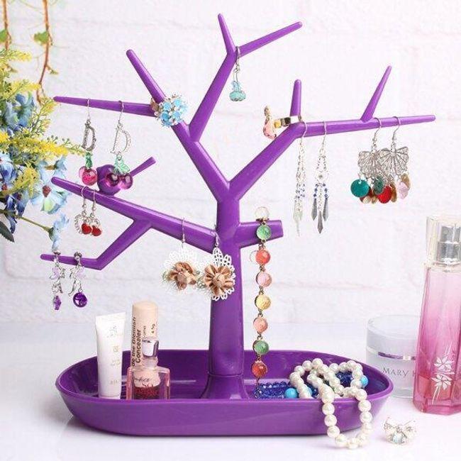 Подставка для украшений в форме дерева  1