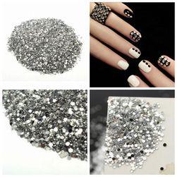Pietricele pentru decorat unghiile - 20000 buc.