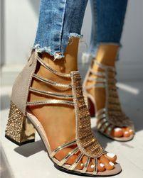 Dámské boty na podpatku JE45