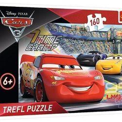 PUZZLE DISNEY CARS 3 NA OKRUHU 160 DÍLKŮ