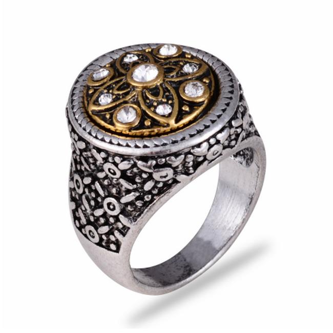 Výrazný prsten s ornamenty - různé velikosti 1