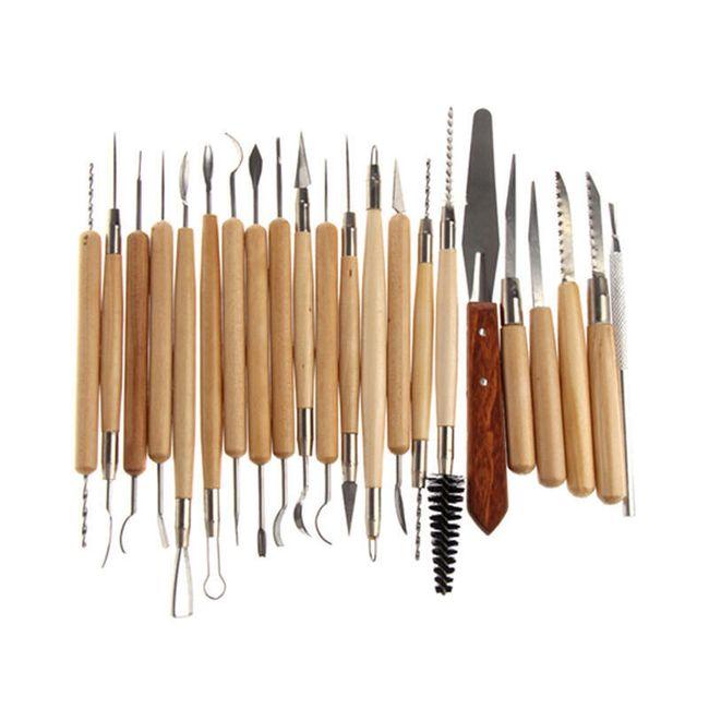 Set 22 kosov rezbarskega orodja 1