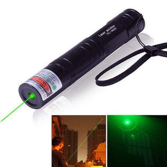 Зеленая лазерная указка - 532 нм 1