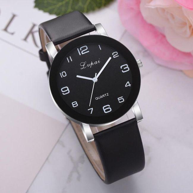 Ženski sat sa crnim brojčanikom - 12 varijanti 1