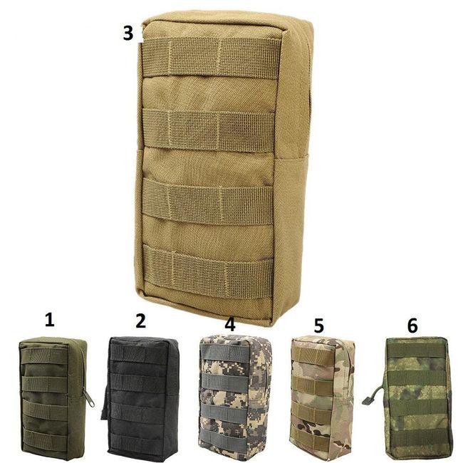 Taktické pouzdro vojenského typu s mnoha úchyty 1
