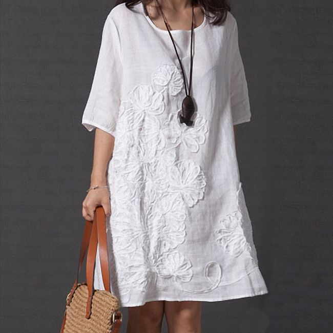Damska sukienka plus size Manuela 1