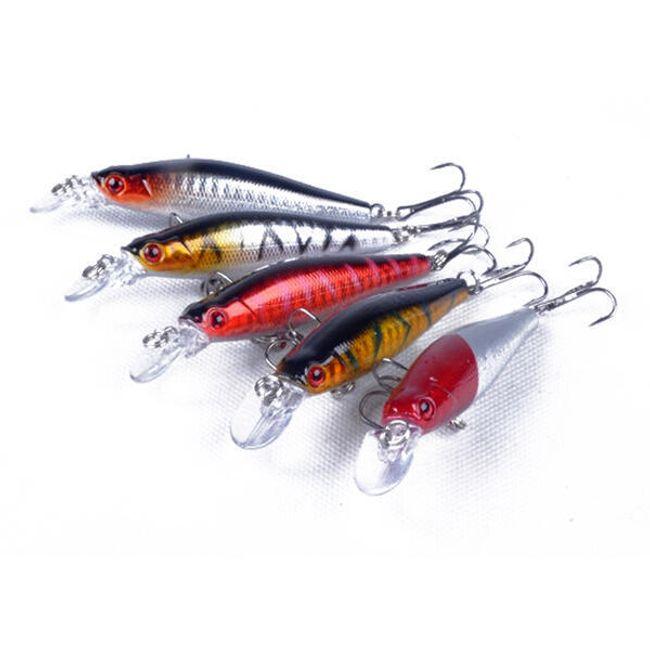 Komplet ribiških vab - 5 kosov 1