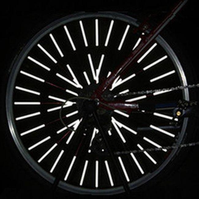 12 komada refleksnih žica za točak bicikla 1