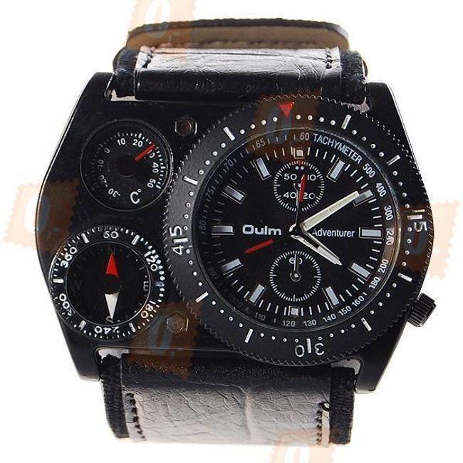 Męski analogowy zegarek z termometrem 1