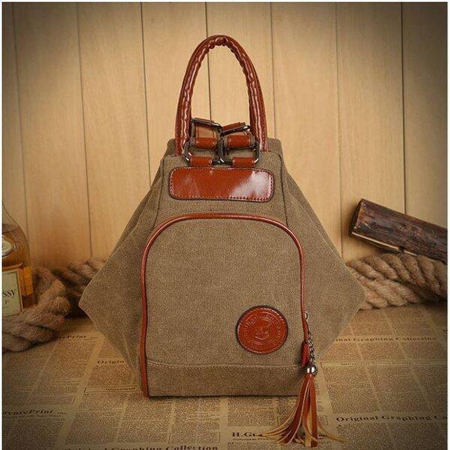 Женская сумочка и рюкзак в одном 1