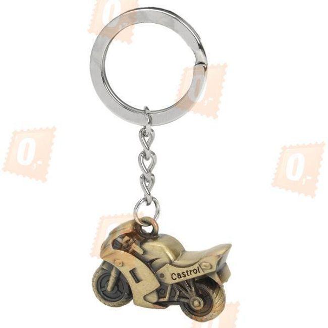 Přívěsek na klíče ve tvaru motorky 1
