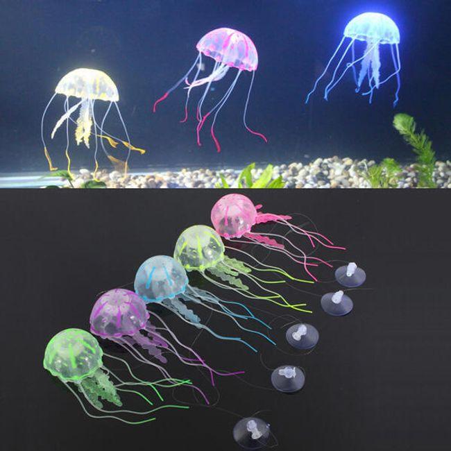Medúza - dekorace do akvária 1