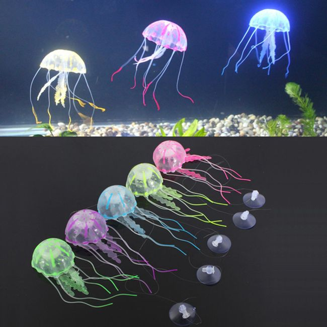 Meduza - dekoracija za akvarij 1