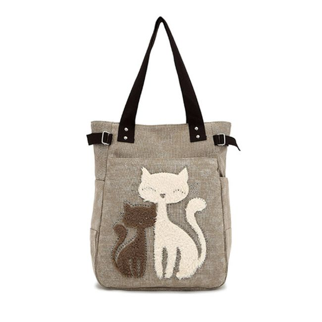 Сумочка с изображением кошек 1