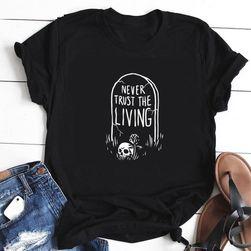 Dámské tričko s krátkým rukávem Abas