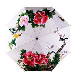 Dámský květinový deštník