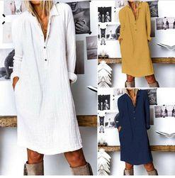Ženska haljina sa dugim rukavima EA_624899698011