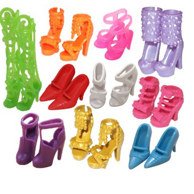 Cipele za lutku Barbie 1