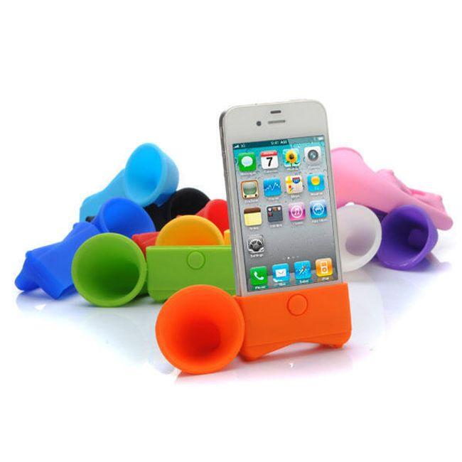 Mini repráček k iPhone 4/4S/4GS - amplion v 10 barvách 1
