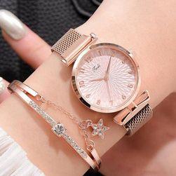 Дамски часовник с гривна WD48