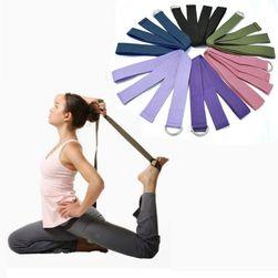 Разтегателна лента за фитнес и йога - различни цветове