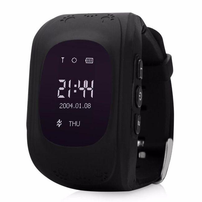 Chytré hodinky s GPS lokátorem pro děti - Černá 1