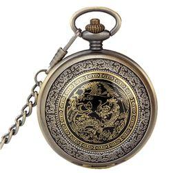 Žepna ura z orientalskimi motivi