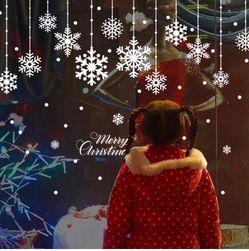 Bożonarodzeniowa naklejka VV01