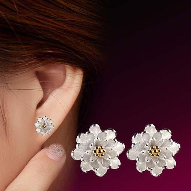 Virág alakú fülbevaló két változatban 1
