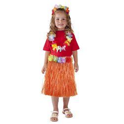 Sukně Hawaii dětská 45 cm oranžová RZ_081000