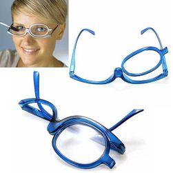 Okulary powiększające do robienia makijażu