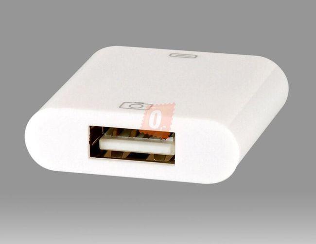 USB port pro připojení fotoaparátu k iPad 1/2 a novému iPadu do Apple konektoru 1