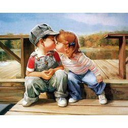 Obraz DIY - pocałunek