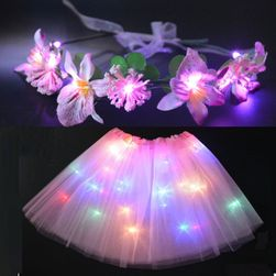 Fustă LED cu coroniță Amélie