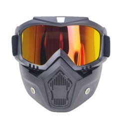 Лыжные очки с маской SKI116