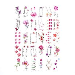 Ideiglenes tetoválás Flora