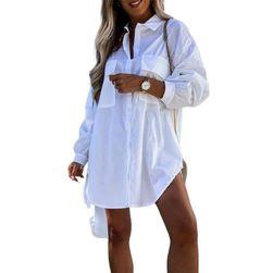 Damska koszula długi rękaw  BR_CZFZ00599