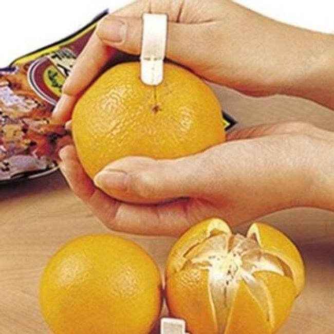 Praktyczny pomocnik do obierania owoców cytrusowych 1